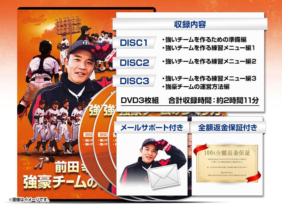 前田幸長監修 強豪チームの作り方 商品イメージ 野球 練習メニューの決定版!前田幸長の強豪チーム